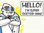 Super Doctor Man — A Patient Information Comic